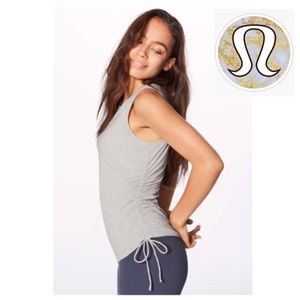 LULULEMON | Pima Cotton Cinch It Tank in Vapor